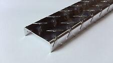 Aluminum Diamond Plate Channel 062 X 75 X 25 X 75 X 48 In Runningboard2pcs