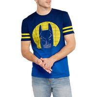 Lego Batman Movie DC Comics Mens S M L Blue Short Sleeve Ghaphic T Shirt New NWT