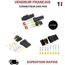 20P... RUNCCI 60Pcs Cosse Electrique Connecteur Rapide Raccords Auto-Dénudants