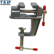 Hand Tools Aluminium Table Vise with Clamp for Jewellers Crafts Model Building