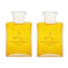 2 x Aromatherapy Associates Deep Relax Bath & Shower Oil 55ml Relaxing Massage
