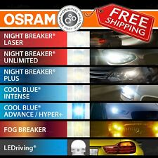 OSRAM ALL Automotive BULBS LAMPS H1 H3 H4 H7 H8 H11 HB3 HB4 H6W H21W T10 T20 P21