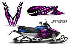 Yamaha APEX Decal Wrap Graphic Sticker Kit Sled Snowmobile 2012-2016 NIGHTWOLF P