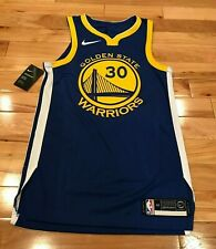 Nike Golden State Warriors Steph Curry Icon Edition Authentic Jersey Size 40