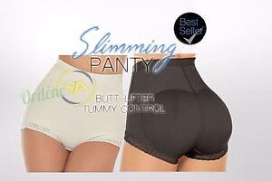 Faja Reductora levanta cola Butt lifter Panty Shaper Powernet Hot colombiana Up