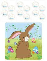 Easter Game Pin Stick The Tail On Bunny Rabbit Childrens Egg Hunt Prize Donkey