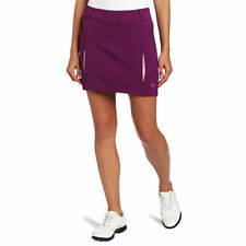 Women's PUMA - Golf Pleated Woven Short Lined Skirt Purple size 12 (T4) $70