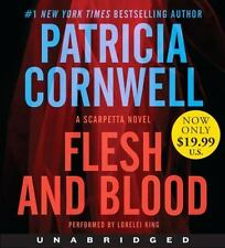 ## SHIPS DAILY ## : Flesh and Blood Low Price CD: A Scarpetta Novel (Audio CD)