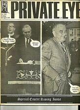 Private Eye Mag # 165  12 April 1968  Harold Wilson MP  Lyndon Johnson LBJ cover