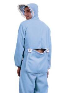 Blue Adult Baby Pajamas Costume