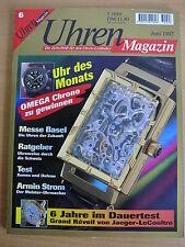 Uhren-Magazin Nr. 6 1997 - Uhren Zeitschrift, Uhrenheft, Magazin