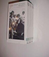 Clio Historia del Futbol Mexicano 1998 VHS Tapes Volume 1-3 New