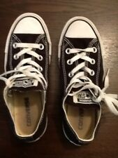 Converse black sneakers.... size 3