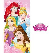Disney Princess bain Plage Grand Serviette Rose 100 Cotton Filles
