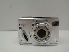 Sony Cyber-shot DSC-W7 7.2 MP Digital Camera - Silver