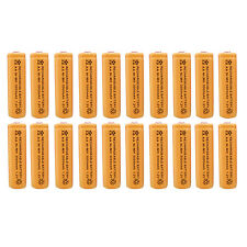 20 x AA 2A 3000 (Actual 300mAh) 1.2V Ni-MH NiMH Rechargeable Battery Cell Orange