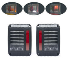 Jeep wrangler 4WD 4X4 off road jk rubicon style euro led integrated tail lights