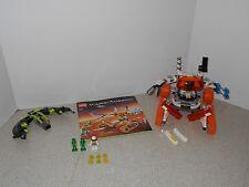 USED LEGO SPACE MARS MISSION MT-51 CLAW TANK AMBUSH (7697) - 100% COMPLETE, BOOK