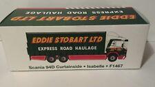 Eddie Stobart Scania 94D Curtainside Isabelle F1467 Atlas Editions