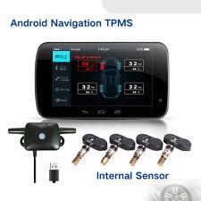 Für Android GPS Auto DVD TPMS Reifen Drucküberwachung System+4Interner Sensor #L