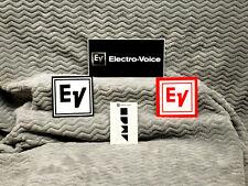 Electro-Voice 3 Sticker Set & Tattoo<<>>Ev& lt;<>>Ev<<& gt;>
