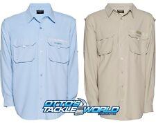 Shimano Long Sleeve Vented Fishing Shirts UPF 30+ @ Ottos Tackle World Drummoyne