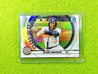 JASSON DOMINGUEZ BOWMAN CHROME ROOKIE CARD PRIZM NY YANKEES RC 2020 Topps Bowman