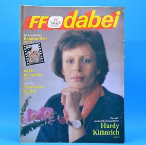 FF-Dabei 11 1987 DDR 09.-15.03. Eiskunstlaufen Kati Witt Peter Maffay H. Rühmann