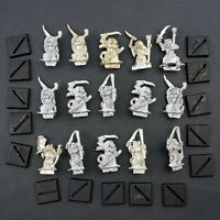 Warhammer Fantasy Skaven Plague Monks x15 Lot Metal Clan Pestilens