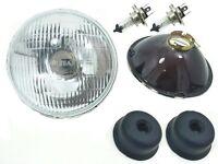 "H4 Headlight Conversion 7"" Set Fits VW Bug Bus Ghia Thing H4  HEADLIGHT KIT"