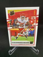 Clyde Edwards-Helaire 2020 Donruss Canvas Rated Rookie KC Chiefs