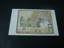 Willebeek Le Mair Children postcard, The Invalid's Birthday, WRITTEN