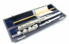 FLUTE  - B Foot - Closed Hole - Silver Plated - Pointed Arms- Clearance SALE!