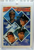 1994 94 TOPPS Gold PROSPECTS Derek Jeter Rookie RC #158, Rare Parallel, Yankees