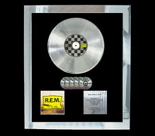 REM OUT OF TIME   MULTI (GOLD) CD PLATINUM DISC FREE POSTAGE!!