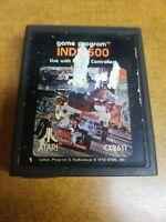 Indy 500 (Atari 2600, 1978)(Tested)