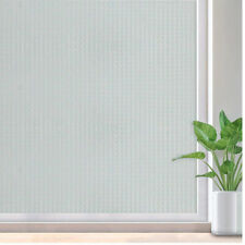 Window Electrostatic Film Privacy Self-adhesive Glass Door Frosted Sticker Home