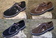 TRACHTENKAISER® Echtleder Haferlschuhe Trachtenschuhe Herren Trachten Schuhe