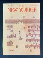 COVER ONLY ~ The New Yorker Magazine, March 17, 1980 ~ Robert Tallon
