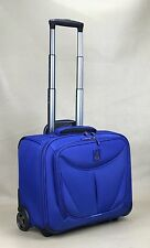 "TRAVELPRO WALKABOUT 3 15.5"" ROLLING CARRY ON 2 WHEELED TOTE ROYAL BLUE"