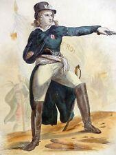 Gravure HENRI DE LA ROCHEJAQUELEIN Jules Boilly RÉVOLUTION Vendée 19e siècle