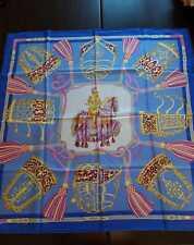 Hermès Foulard donna Les Muserolles Paris silk Made in France seta