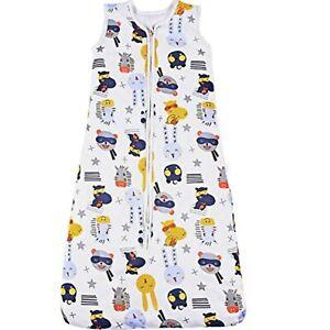 Baby Cotton Sleeping Bag 0.5 Tog Baby Grow Wearable Animal Blanket Sleep Sack