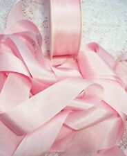 """100/%SILK EMBROIDERY RIBBON 1//4/"""" ~BLUSH//BISQUE ~  10 YDS 7MM"""