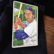 1952 Bowman Baseball Card Gil Hodges #  80