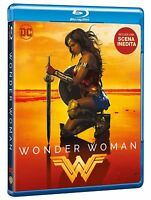 WONDER WOMAN - IL FILM (BLU-RAY + Extra Scena Inedita) Warner Bros con Gal Gadot