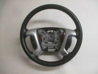 2007 2008 GMC Acadia Leather Steering Wheel w/Cruise Control OEM LKQ