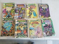 Marvel Premiere Featuring Comic Lot 10 13 14 43 48 57 58 59 DR WHO ANTMAN DR...