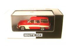 WhiteBox Wb264 Wartburg 312 Camping 1960 Rt/wß Maßstab 1 43