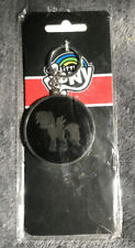 My Little Pony - Round Black  Metal Keychain - New In Package - Rare!